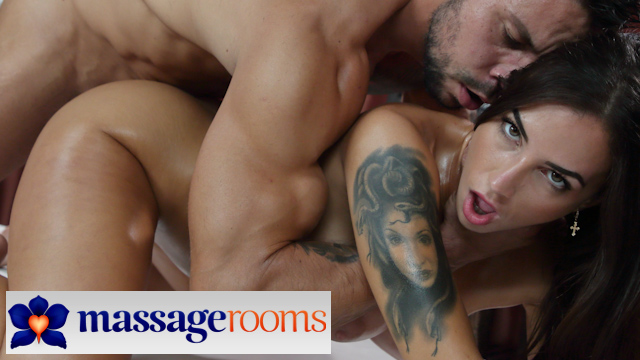 Multiple sensual oil soaked orgasms